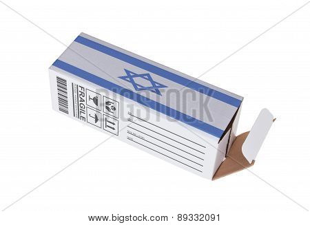 Concept Of Export - Product Of Israel