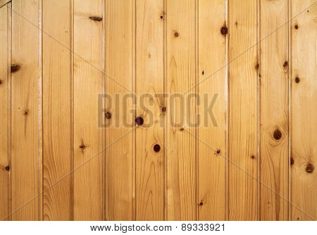 Spruce Planks Texture On Wall
