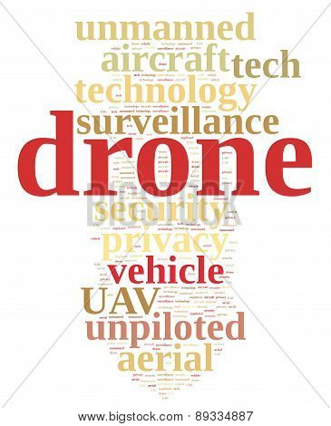 Drone, Unmanned Aerial Vehicle .