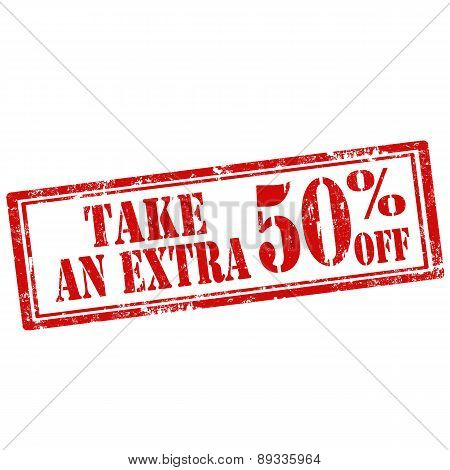 Take An Extra 50% Off-stamp