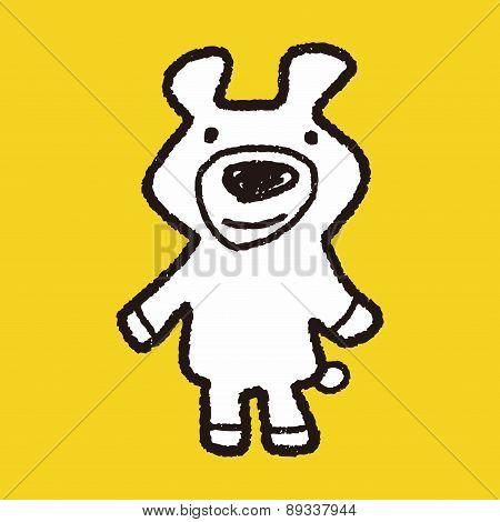 Doodle Bear Doll