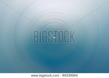 Water Drop Spin Blur Background