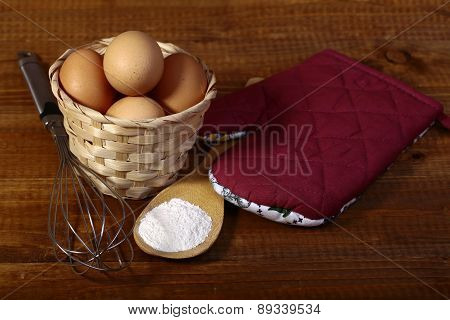 Eggs Flour And Appliances