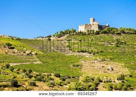 Saint Elme fortress, Languedoc-Roussillon, France