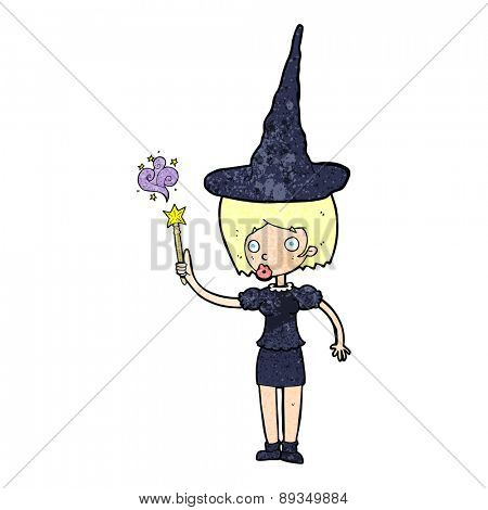 cartoon halloween witch