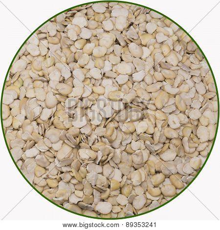 Cracked Faba Bean