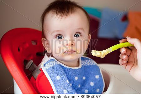 The Baby Is Not Hungry