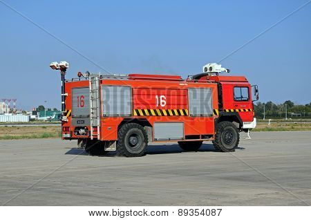 Spanish fire engine.