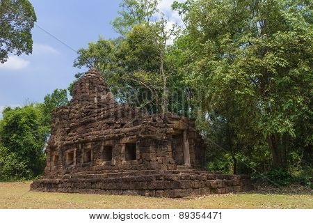Hindu sanctuary situated name Tamuen stone castle