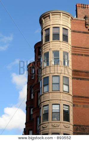 Ornate Rounded Bay Windows Two