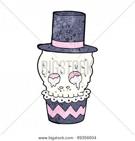 spooky halloween cupcake treat