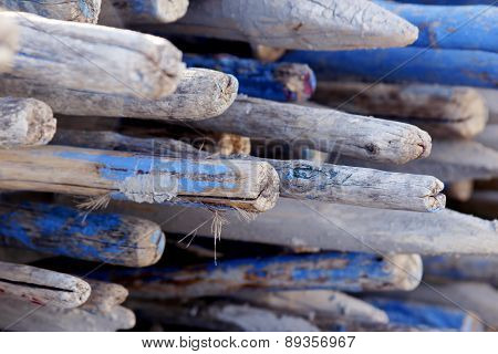 Wooden Rods
