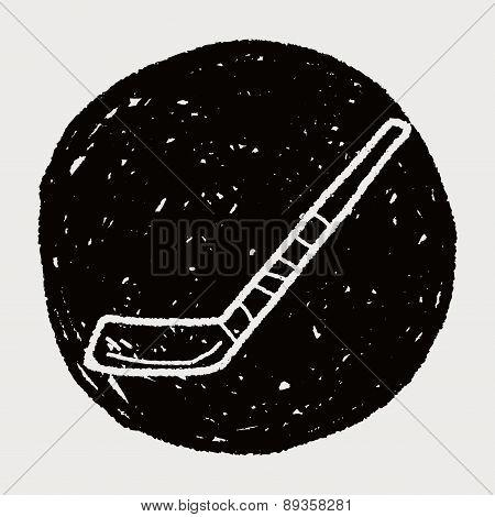 Hockey Stick Doodle