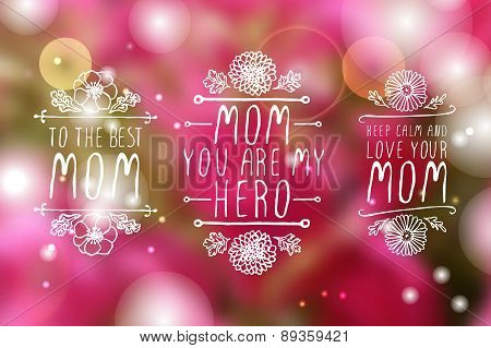 Happy Mother's Day Elements
