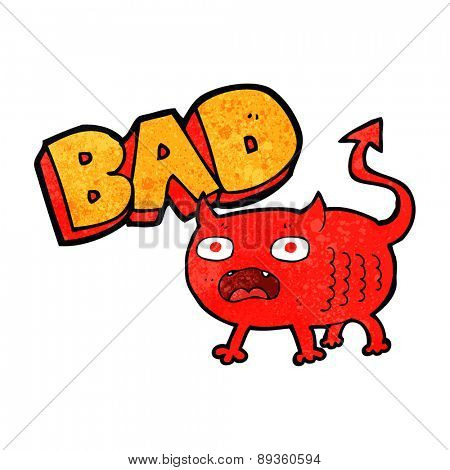 cartoon bad little devil cartoon