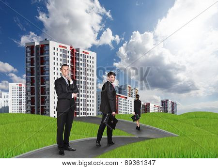 New high-rise buildings