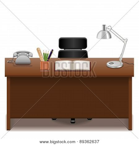 Vector Office Table