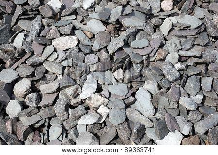 Background of slate stones