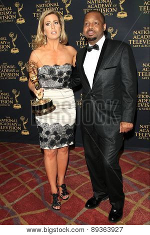 LOS ANGELES - APR 24: Anacostia, Martha Byrne at The 42nd Daytime Creative Arts Emmy Awards Gala at the Universal Hilton Hotel on April 24, 2015 in Los Angeles, California