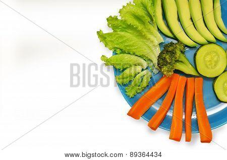 Vegetarian Dish Of Vegetables