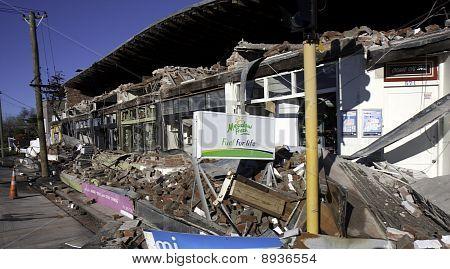 Christchurch Earthquake 4 Sep 2010 Edgeware And Barbadoes