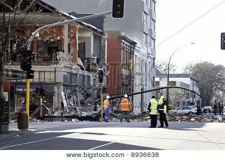 Christchurch Earthquake 4 Sep 2010
