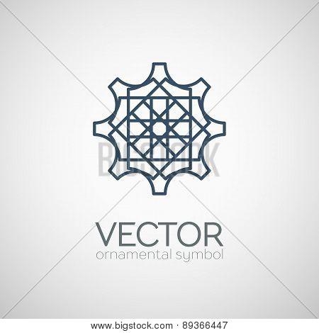 Vector geometric symbol