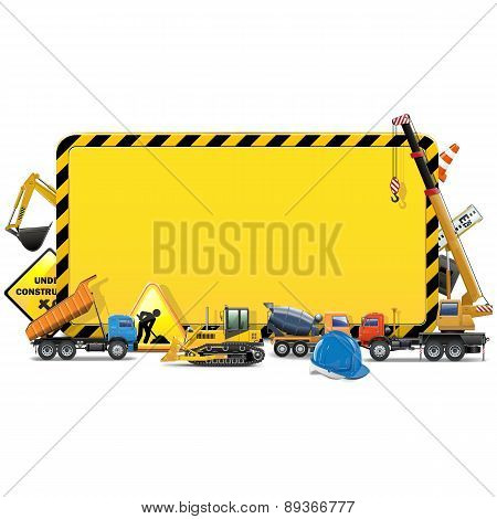 Vector Construction Board