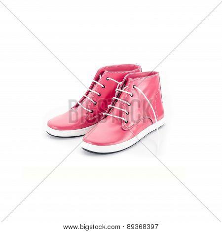 Women's boots pink