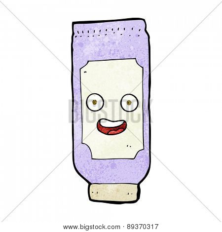 cartoon tube of cream