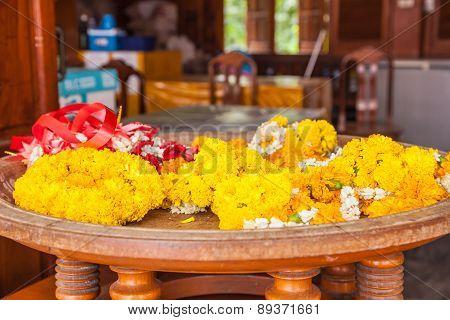 Garlands Of Marigolds