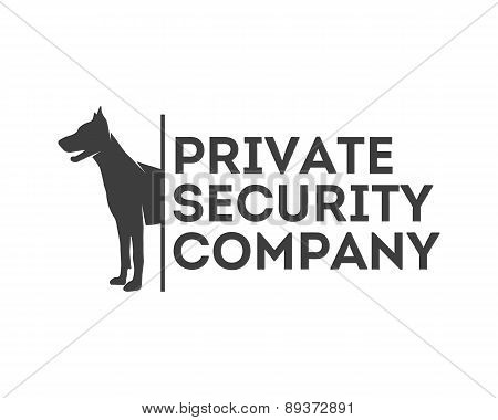 Vector Logo For Private Security Company