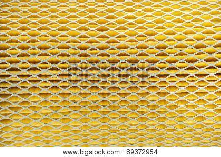 Close Up Texture Car Air Filter