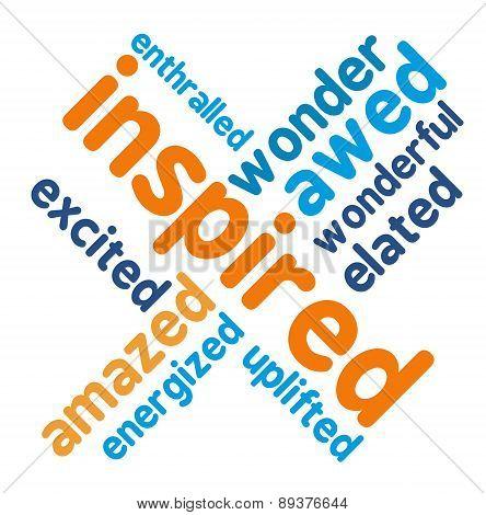 Inspired Word Cloud