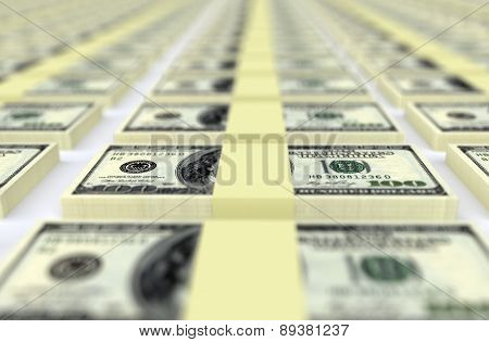 Money Dollars Usa. Business Concept