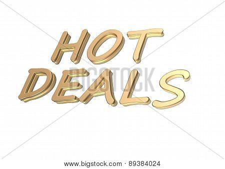 Three-dimensional Inscription Hot Deals