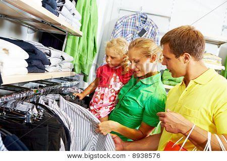 Departamento de roupas