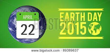 april 22nd against green vignette