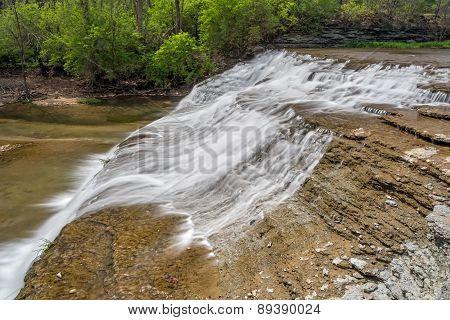 Alongside Thistlethwaite Falls