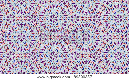 Decorative pattern with gray background