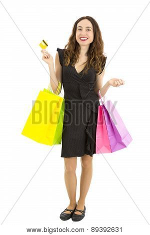 Shopping With The Credit Card
