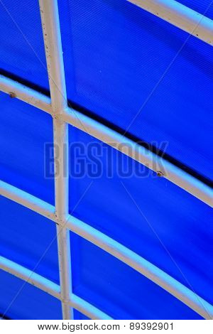 Plastic Abstract   Kho Phangan Pier Roof Lomprayah  Bay   In Thailand