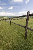 foto of pieniny  - meadows mountains beskidian beskid Pieniny nature highland - JPG