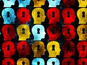 image of keyholes  - Data concept - JPG