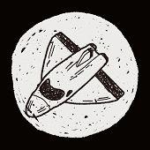 picture of spaceships  - Spaceship Doodle - JPG