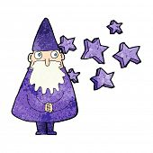 stock photo of wizard  - cartoon magical wizard - JPG