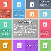picture of reuse recycle  - Recycle bin Reuse or reduce icon sign - JPG
