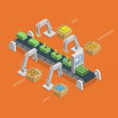 foto of money  - Money Making Process Concept - JPG