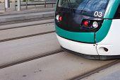picture of tram  - Close - JPG
