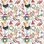 picture of pattern  - Vector seamless pattern - JPG